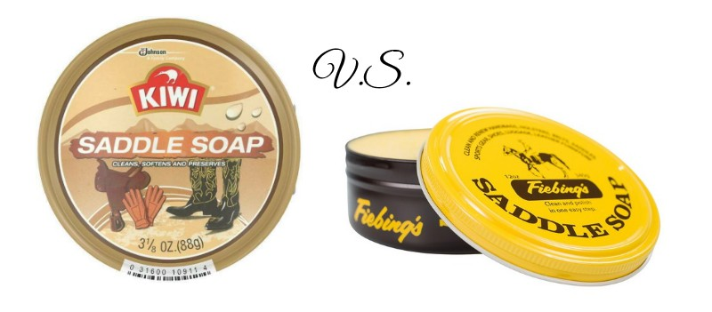 kiwi saddle soap vs fiebings saddle soap